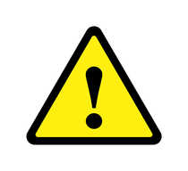 triangle clipart warning sign 1